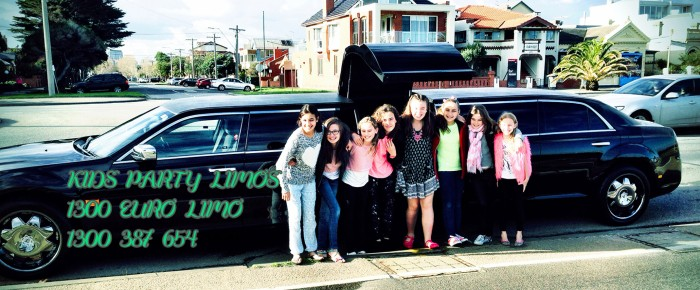 Kids Party Limos